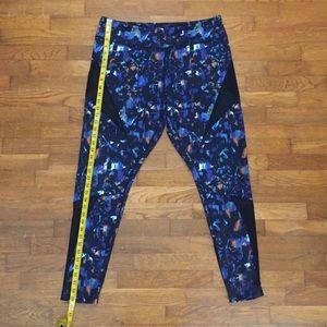 Zella full length leggings with mesh inserts